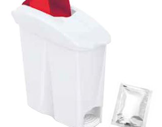 Contenitore assorbenti igienici